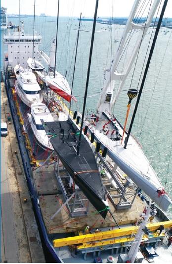 Aurora specialist yacht transport
