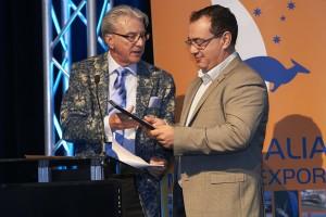 Barry Jenkins, Chairman Superyacht Australia & Sam Sorgiovanni, Sorgiovanni Designs