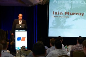 Iain Murray - America's Cup Director and 2014 ASMEX Guest Speaker