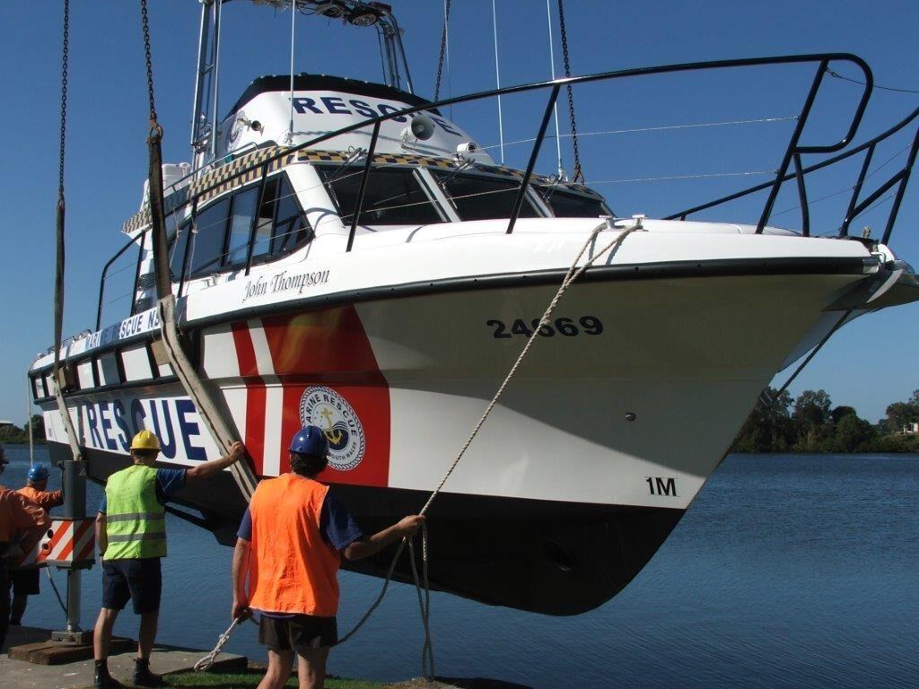 PS31 John Thompson for Port Stephens Marine Rescue