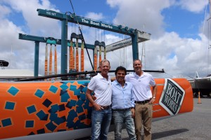 The Boat Works Extreme40 Tony Longhurst, Steve Ackerie, Rodney Longhurst