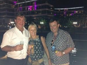 Andy Treadwell, MaryAnne Edwards & Bruce Maxwell small
